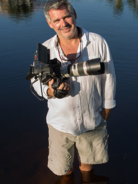 Filmmaker John Scoular on the cover of Coaste magazine